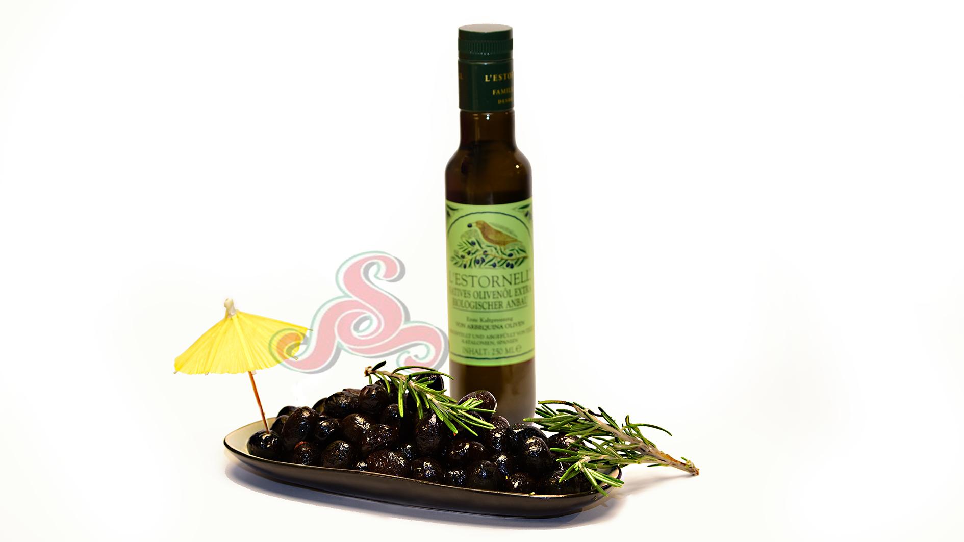 Französische Oliven mit Kern