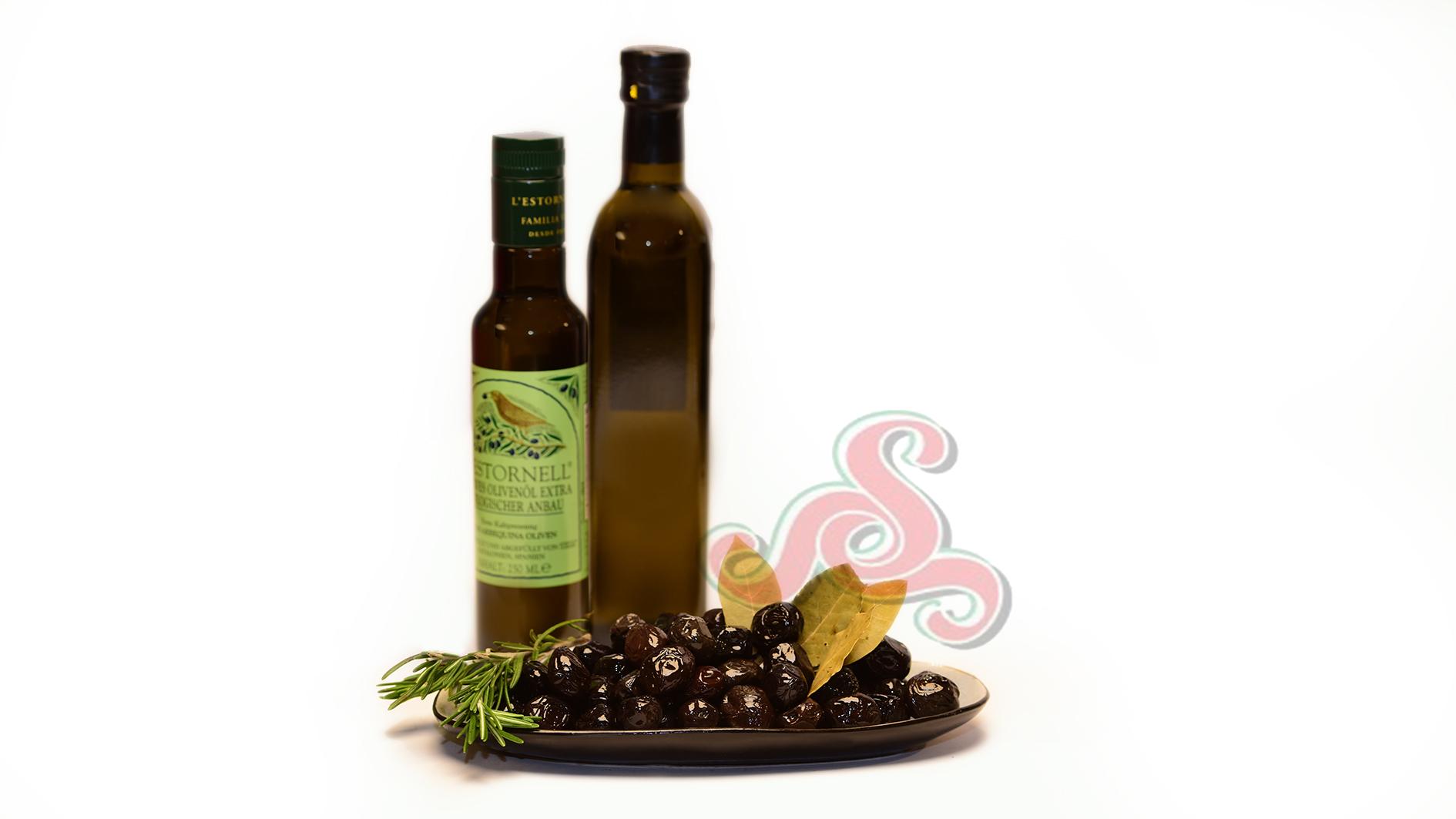 Orientalische Oliven