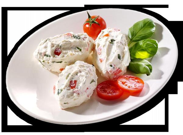 Tomaten-Basilikum Creme