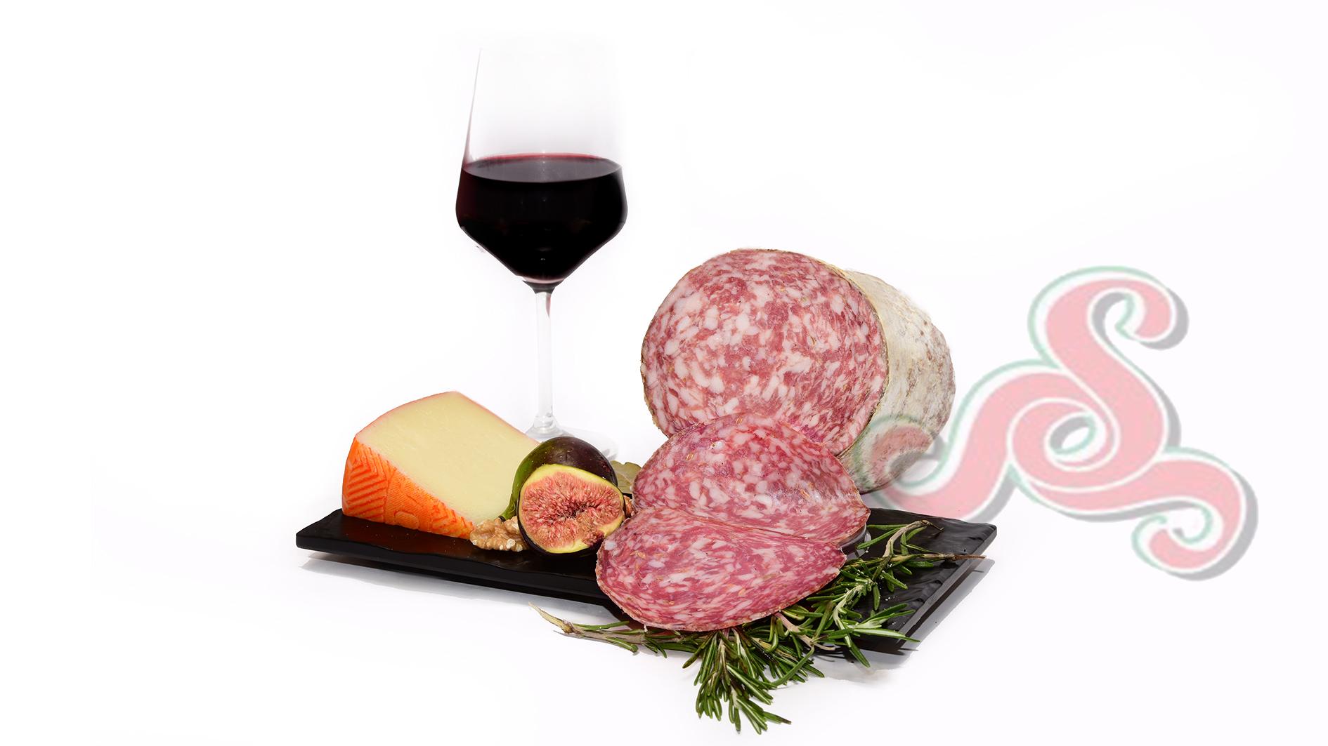 Ital. Fenchel-Pfeffer Salami (Finocchiona-Pepeato)