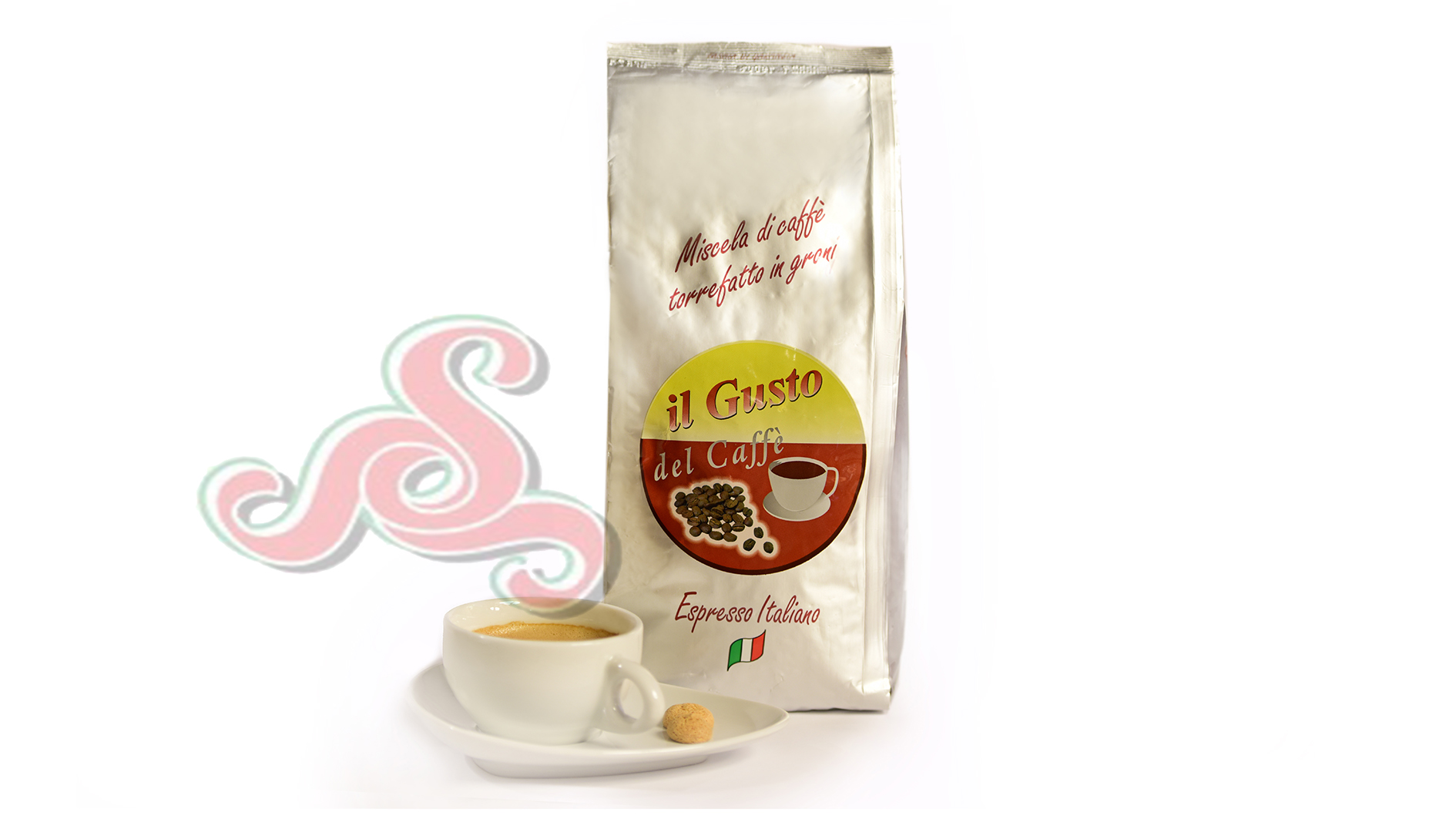 Kaffee Bohnen 1 KG Rot 60/20